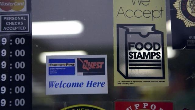 Food Stamps Sign Raleigh NC