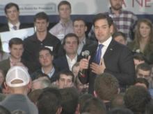 GOP candidate Marco Rubio speaks at Raleigh rally