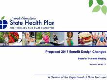 Health plan changes presentation cover