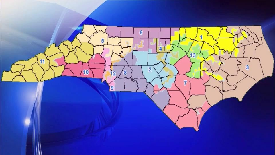 GOP Proposes Major Changes To NC Congressional Map WRALcom - Us nc congress district 9 current map