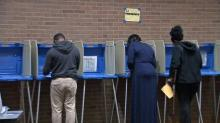 Voting in Raleigh
