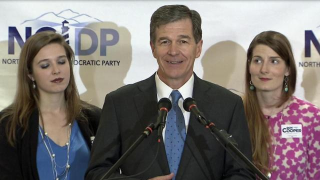 Roy Cooper primary speech