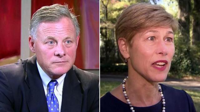 Republican U.S. Sen. Richard Burr will face Democratic former state lawmaker Deborah Ross in the November 2016 election.