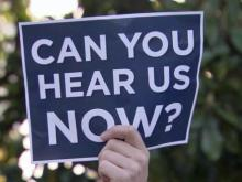 Air horn protest makes noise over House Bill 2