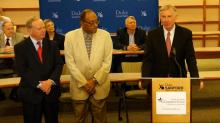 Redistricting news conference