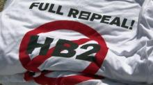 IMAGES: Investors call for repeal of HB2, say it's 'bad for business' in NC