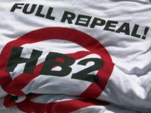 LGBT groups petition for HB2 repeal