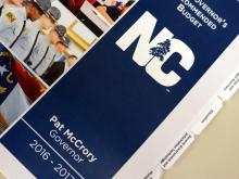Gov. McCrory's 2016 budget