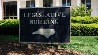 Legislative Building sign