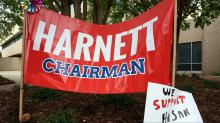 IMAGES: NCGOP removes Harnett as chairman