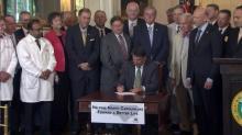 Medicaid waiver signing