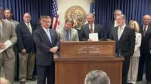 Legislative leaders discuss budget deal