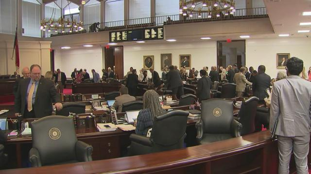 Senate holds first of two budget votes