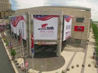 On the eve of the Republican National Convention, host city Cleveland is opening its arms to welcome delegates and turning up security to try and keep them safe.