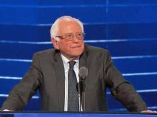 Sanders says Clinton must become the next U.S. president