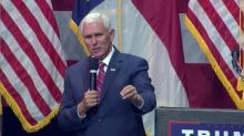 Mike Pence in Raleigh