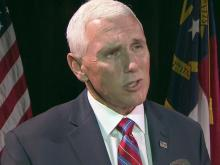 Web only: Mike Pence talks Trump style, HB2