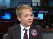 11-year-old discusses his 'softening up' question to Pence