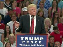 Trump holds rally in Wilmington