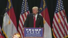 Trump stumps in Charlotte