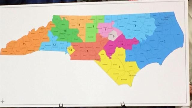 A group of retired judges drew a proposed congressional map for North Carolina without any partisan considerations as an experiment by Duke University and Common Cause North Carolina.