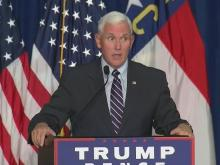 Pence rallies Trump supporters in Winston-Salem