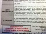 Alamance Voter ID Mailing