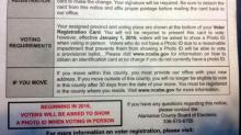 IMAGES: Some election mailers still say voters will need ID at polls
