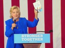 Clinton holds rally at Charlotte's Johnson C. Smith University