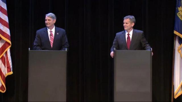 Candidates for attorney general: Sen. Buck Newton, R-Wilson, (Left) and Sen. Josh Stein, D-Wake, (Right).