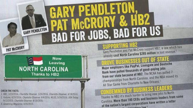 NC Families Pendleton flier