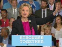 Clinton speaks at Wake Tech