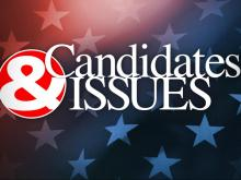 Candidates & Issues graphic