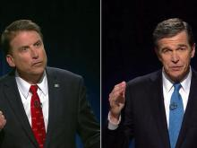 McCrory, Cooper campaigns watch race results in Raleigh
