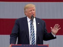 Trump campaigns in Greensboro