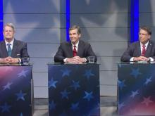 Governor candidates debate at WRAL