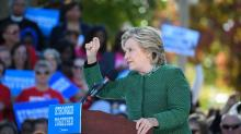 IMAGES: Hillary Clinton rallies in Raleigh