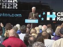Former president tours eastern NC for Clinton