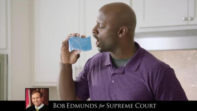 """Fair Judges"" aired a doo-wop jingle on behalf of Bob Edmunds."
