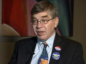 This is an image of Liberatarian U.S. Senate candidate Sean Haugh.