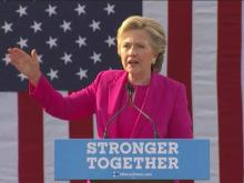 Clinton holds rally at Pitt Community College