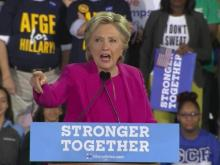 Sanders joins Clinton for Raleigh rally