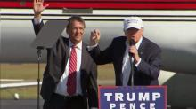 IMAGES: McCrory says Trump is the 'outsider' needed to clean up Washington