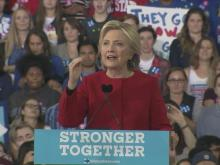 Clinton holds final campaign rally in Raleigh