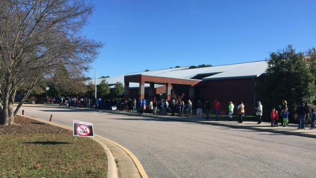 Voting in Raleigh: Nov. 8, 2016