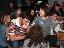 A look at election night parties across North Carolina and the country.