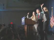 Despite thin lead, Cooper celebrates gubernatorial victory
