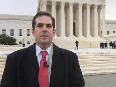 Mark Binker at the U.S. Supreme Court