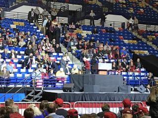 President-elect Donald Trump will bring his Thank You USA tour to Fayetteville Tuesday night and will bring with him Secretary of Defense pick James Mattis.