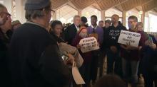 Protests staged at Legislative Building